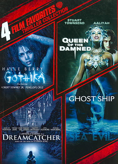 4 FILM FAVORITES:THRILLER COLLECTION (DVD)