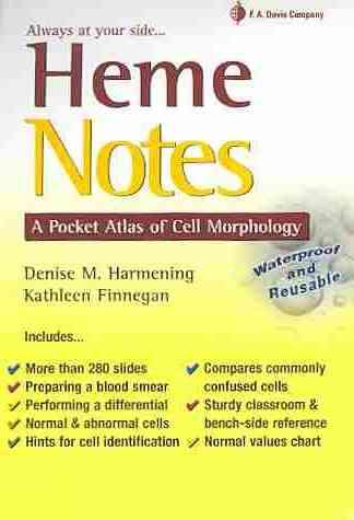 Heme Notes By Harmening, Denise M.